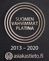 Trio - suomen vahvimmat sertifikaatti logo
